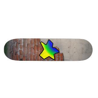 GRAFFITI #1 STAR SKATE DECK