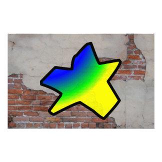 GRAFFITI #1 STAR CUSTOMIZED STATIONERY