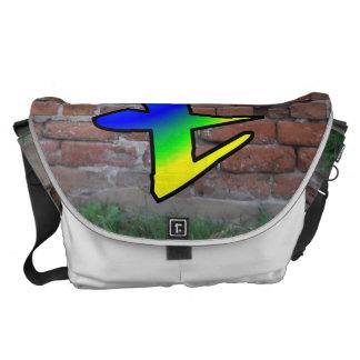 GRAFFITI #1 T MESSENGER BAG