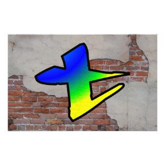 GRAFFITI #1 T PERSONALIZED STATIONERY