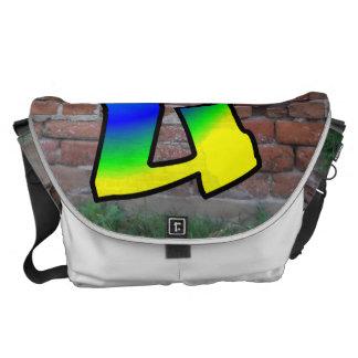 GRAFFITI #1 U MESSENGER BAG