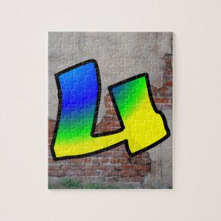 GRAFFITI #1 U JIGSAW PUZZLE