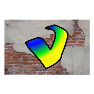 GRAFFITI #1 V CUSTOM STATIONERY