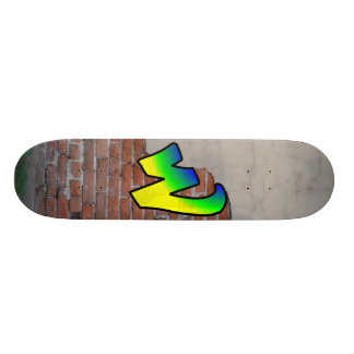 GRAFFITI #1 W CUSTOM SKATEBOARD