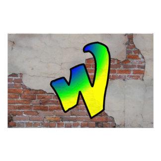 GRAFFITI #1 W CUSTOM STATIONERY