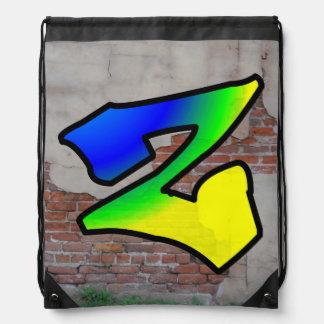GRAFFITI #1 Z DRAWSTRING BACKPACK