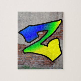 GRAFFITI #1 Z JIGSAW PUZZLES