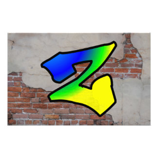 GRAFFITI #1 Z PERSONALIZED STATIONERY