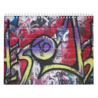 Graffiti 2010 calendar