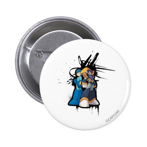 Graffiti 2 Inch Round Button