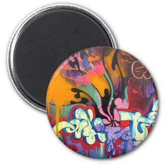 Graffiti 2 Inch Round Magnet