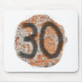 Graffiti 30th Birthday Gifts Mouse Pad