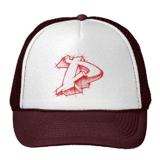 Graffiti 3d style - Arrowmade D - Trucker Hat
