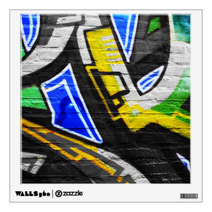 Graffiti 6 WD Wall Decal