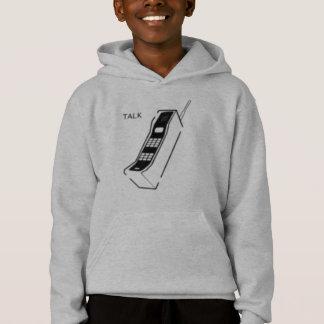 Graffiti 80s Cellphone Hoodie