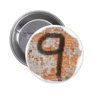 Graffiti 9th Birthday Gifts Pinback Button
