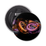 Graffiti Abstract Button Bottle Opener