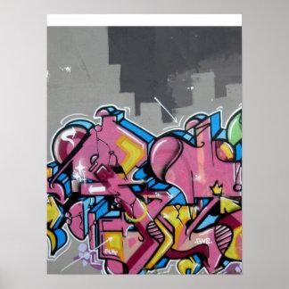 Graffiti - Abstract City Art Poster