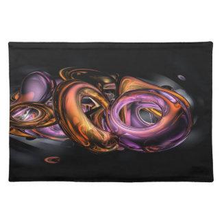 Graffiti Abstract Cloth Placemat