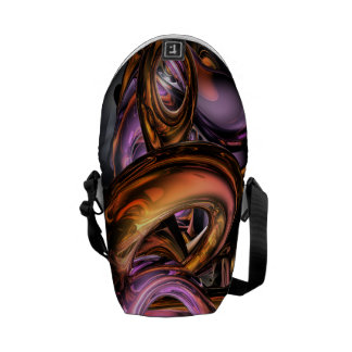 Graffiti Abstract Messenger Bags