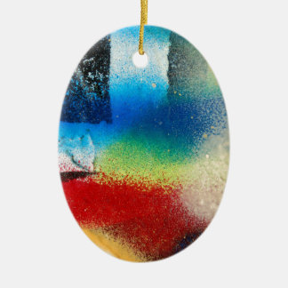 graffiti abstract paint background ceramic ornament