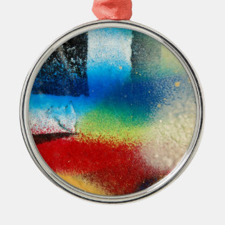 graffiti abstract paint background metal ornament