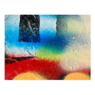 graffiti abstract paint background postcard