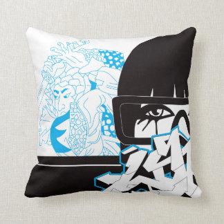 Graffiti an chinese pillow