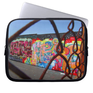 Graffiti and Chains Laptop Sleeve