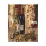 Graffiti and Wine Canvas Print