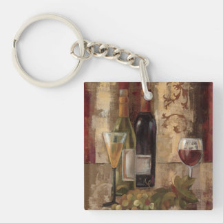 Graffiti and Wine Keychain