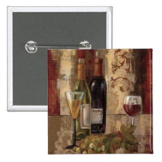 Graffiti and Wine Pinback Button