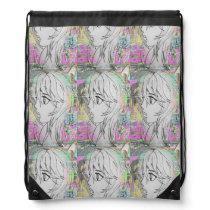 graffiti Anime Girl backpack