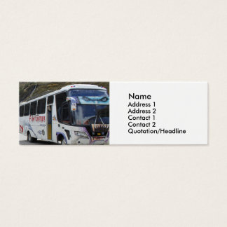 Graffiti Art Bus Mini Business Card