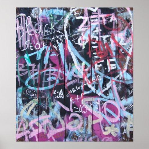 Graffiti Art Poster