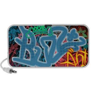 Graffiti Art Speaker doodle