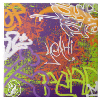 Graffiti Art Tile