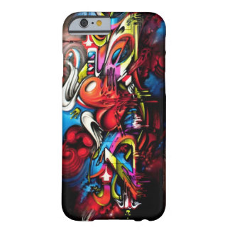 Graffiti Artistic Barely There iPhone 6 Case
