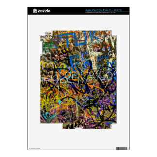 Graffiti Background iPad 3 Decals