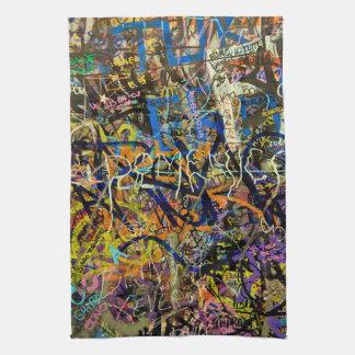 Graffiti Background Towel