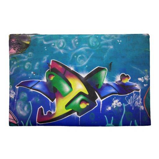 Graffiti Travel Accessory Bag