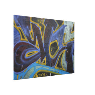 Graffiti, Berlin, Germany Gallery Wrapped Canvas