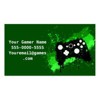 Graffiti Box Controller Video Game Business Cards