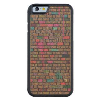 Graffiti Brick Wall Carved® Maple iPhone 6 Bumper Case