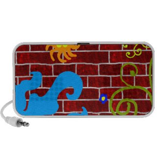 Graffiti Brick Wall doodle