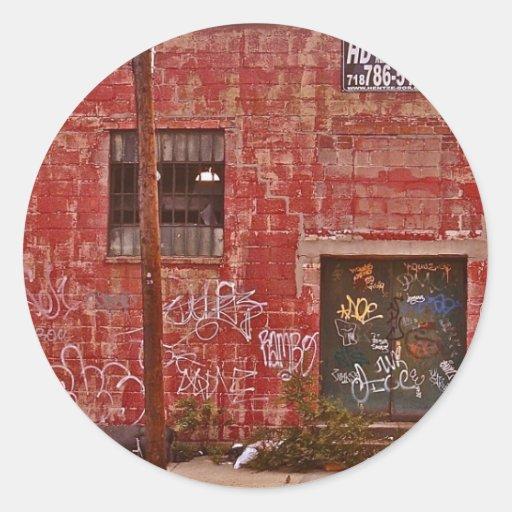 Graffiti- Brooklyn NYC Classic Round Sticker