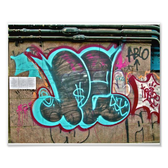 Graffiti- Brooklyn NYC Photo Print