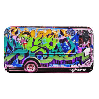 Graffiti Bus Covers For iPhone 4