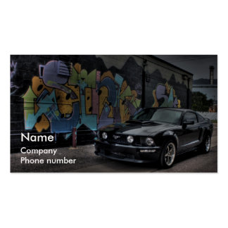 graffiti Double-Sided standard business cards (Pack of 100)