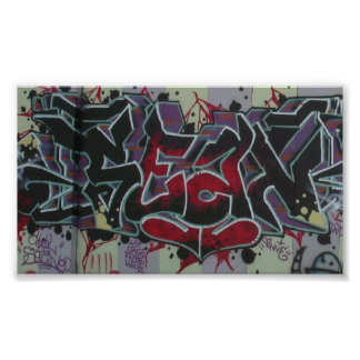 Graffiti by Sean *glowing ember* Poster